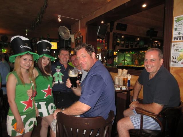 At Jameson's Irish Pub, Pattaya, Thailand