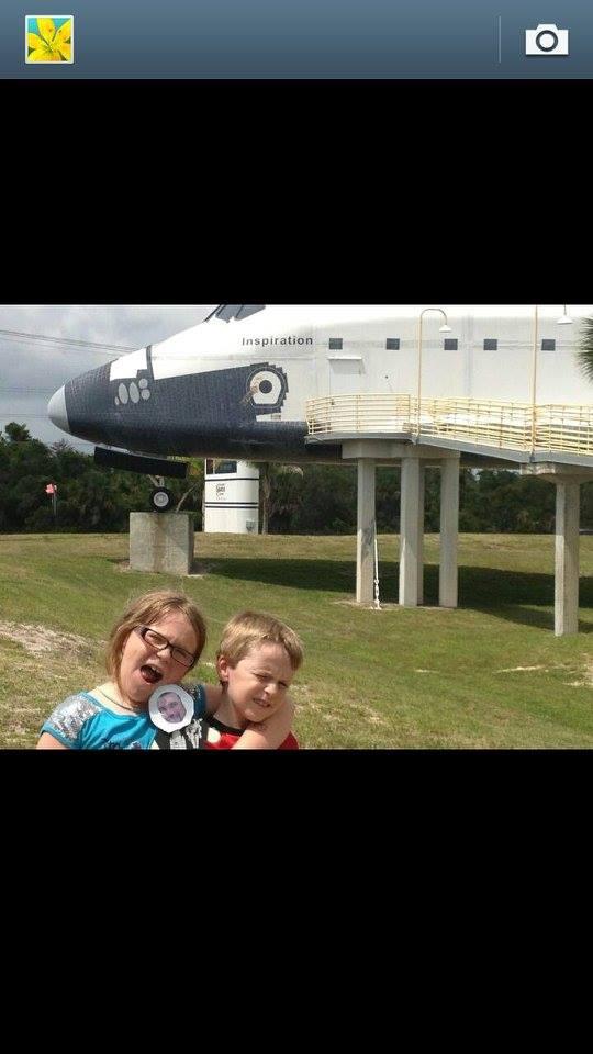 Mini Ben visits NASA! Thank you to Velvet and Heather. — at NASA's Johnson Space Center.