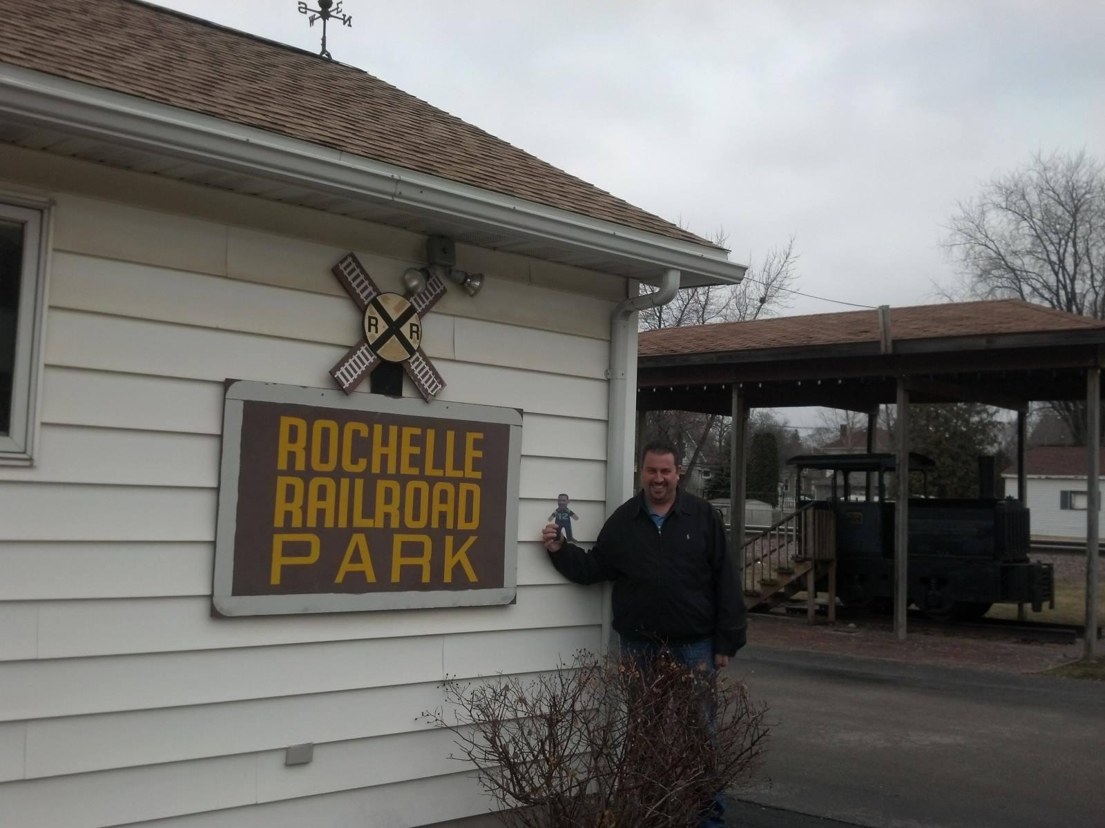 Mini Ben at Rochelle Railroad Park, Rochelle, Illinois