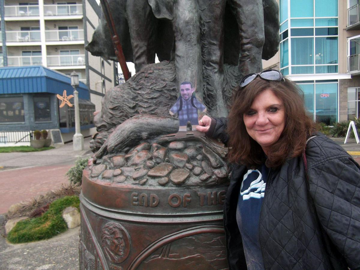 Mini Ben at Seaside, Oregon. Thank you Manuela T.