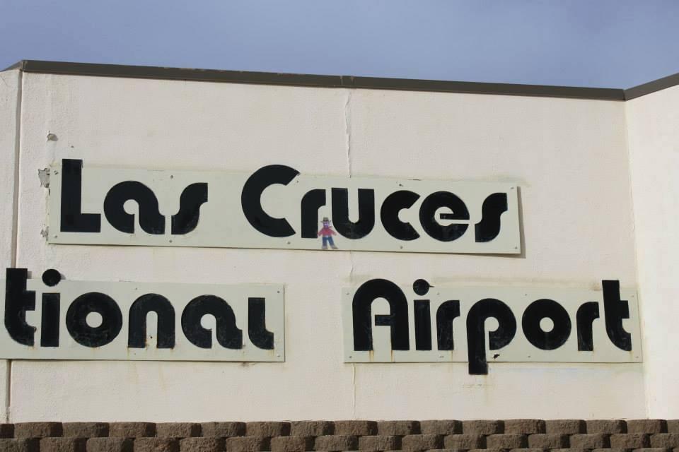 Mini Ben at the Las Cruces International Airport