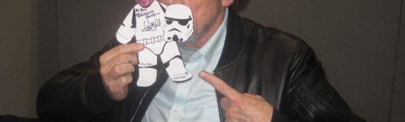 Mark Hamill, aka Luke Skywalker, in London